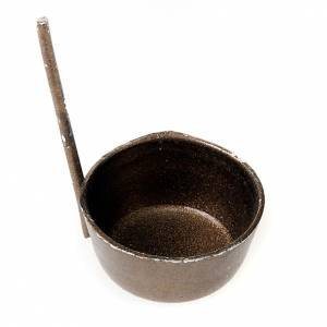 Petite casserole avec manche pour crèche s1