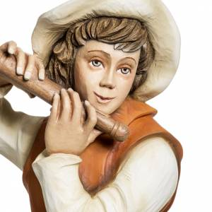 Statue in Vetroresina: Pifferaio presepe 60 cm vetroresina