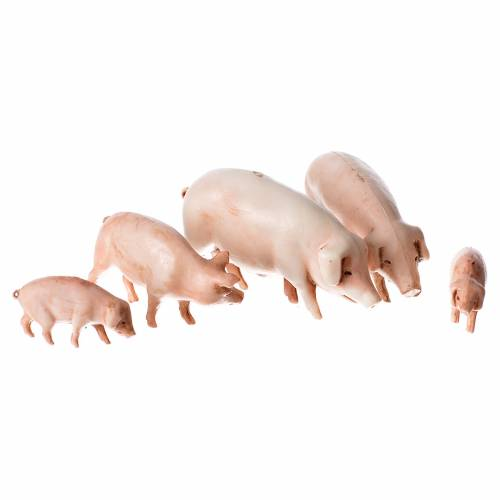 Pigs 10cm Moranduzzo collection s1