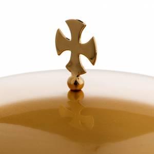 Pisside ottone dorato opaco croce celtica s4