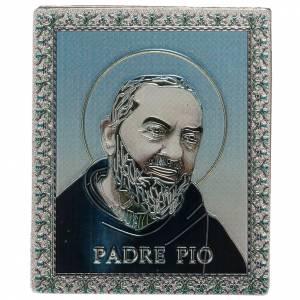 Magnets religieux: Planche magnétique Père Pio
