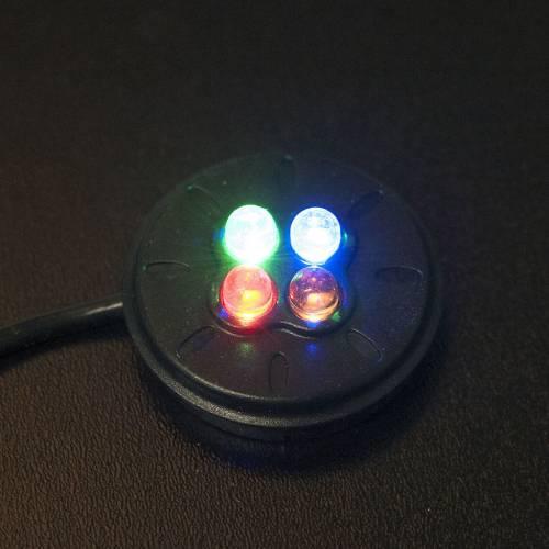 Pompa acqua presepe 2W con led colorati AP300LV s2