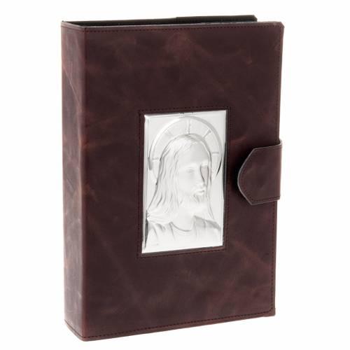 Portada Misal Romano plata y piel s1