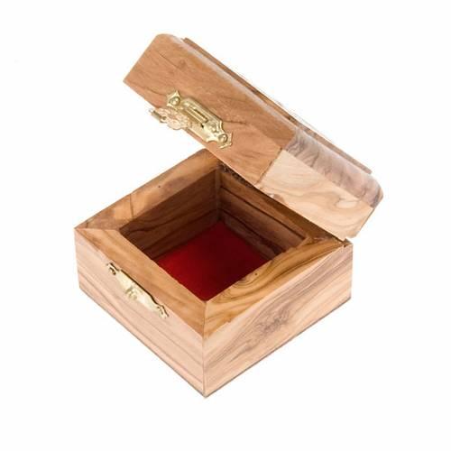 Portarosario caja de olivo Jerusalen s3