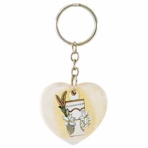 Porte-clé Coeur Calice 4 cm s1