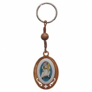 Porte-clés: STOCK Porte-clef olivier Jubilé Miséricorde
