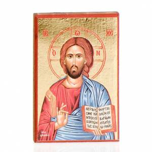 Icons printed on wood and stone: Printed icons Jesus, Mary, The last Supper, the Holy Trinity