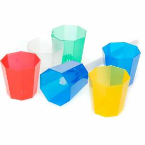 Candles, large candles: Processional candle cups (20 box)