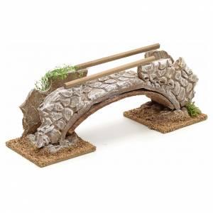 Puente en terracota estilo nórdico 8x21x6cm s2