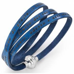Pulseras AMEN: Pulsera AMEN Avemaría - blue jeans ITALIANO