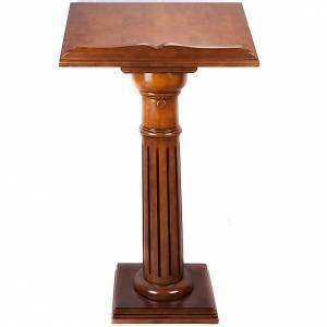 Lutrins sur pied: Pupitre à colonne mono 70x45 cm