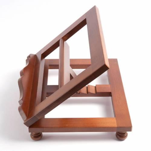 Pupitre de lecture, modèle en bois moderne, top s3