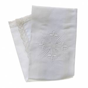 Servizi da messa e conopei: Purificatoio misto lino