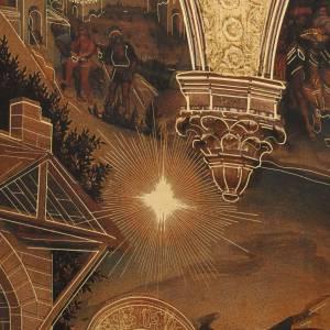 Quadro Adorazione dei Magi stampa legno 49x68 s5