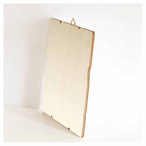 Quadro legno sagomato gancio retro Nozze di Cana s3