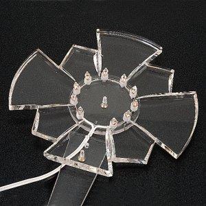 Radial Led Luminoso en plexíglas s3