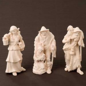Nativity scene from Val Gardena: Raffaello crib, 10 cm