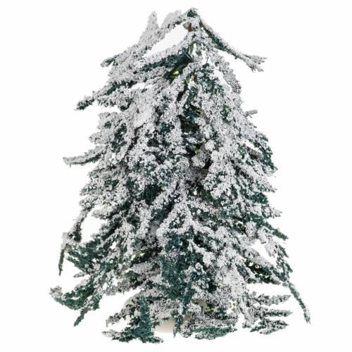 Árbol con nieve H de 15 cm s2