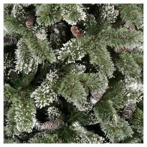 Árboles de Navidad: Árbol de Navidad 210 cm verde con piñas Glittery Bristle