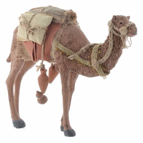 Re Magi e cammello h. 35 cm resina s5