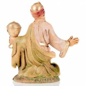 Statue per presepi: Re mulatto 8 cm