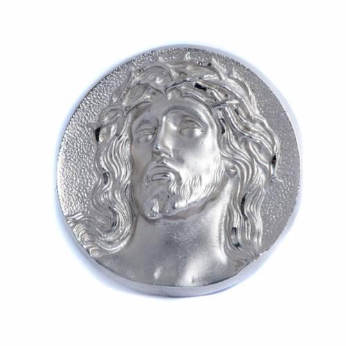 Relief pictural, visage de Christ s1