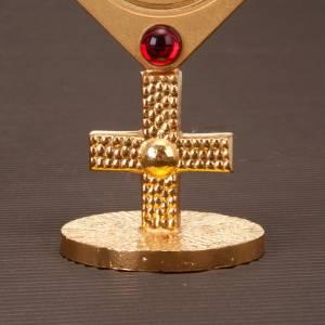 Ostensoirs, Reliquaires  en métal: Reliquaire avec pierres rouges