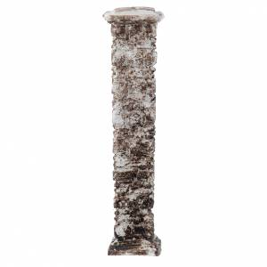 Home accessories miniatures: Resin column with ancient stones 15x5x5 cm
