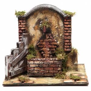 Fountains: Resin fountain for DIY nativity scene 25x25x20 cm