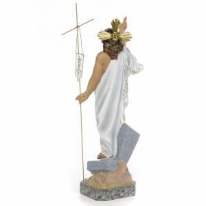 Resurrected Christ 40cm, wood paste, superior decoration s3