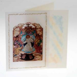 Greeting cards: Resurrection card with parchment