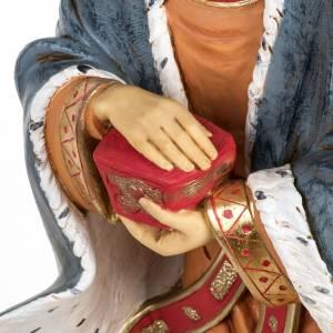 Rey Mago blanco 85 cm. resina Fontanini s3