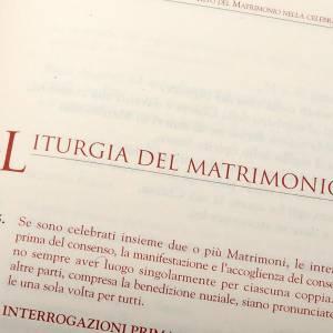 Lezionari e Messali: Rito del matrimonio  2 vol.