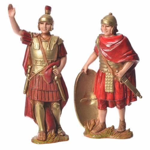 Roi Hérode et soldats 8 cm Moranduzzo s2