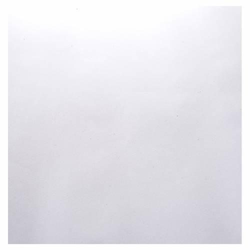 Rollo papel blanco terciopelo cm. 70x50 s2