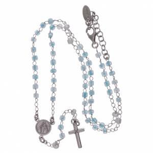 Rosario classico junior AMEN argento 925 e cristalli s4