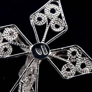 Rosari argento: Rosario filigrana argento 800