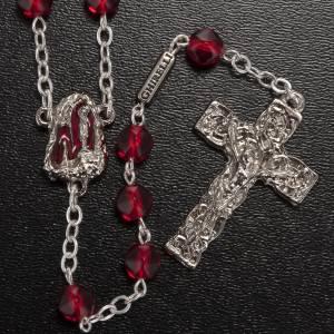 Rosario Ghirelli Sacra grotta di Lourdes rosso s2
