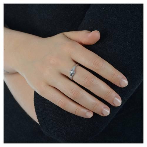 Rosenkranz Ring Heilige Rita Silber 925 s4