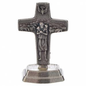 Rosenkränze: Rosenkranz und Kreuz Papst Franziskus Mahagoni