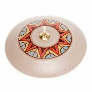 Round ceramic lamp s4