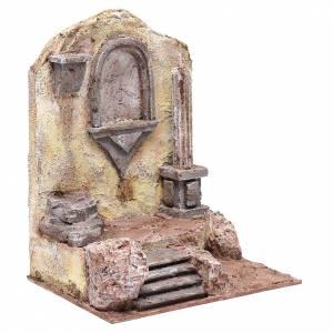 Rovine tempio con nicchia 30x25x20 cm s3