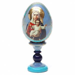 Russian Egg I'm with you and no one against Fabergè 13cm s1