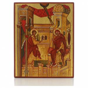 Russian hand-painted icons: Russian icon, Annunciation of Rublev