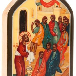 Russian icon foot washing s4