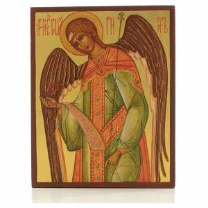 Russian hand-painted icons: Russian icon Gabriel the Archangel