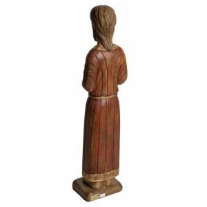 Sacro Cuore di Gesù gotico 58 cm legno Bethléem s4