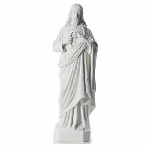 Sagrado Corazón de Jesús 130 cm  polvo de má s1