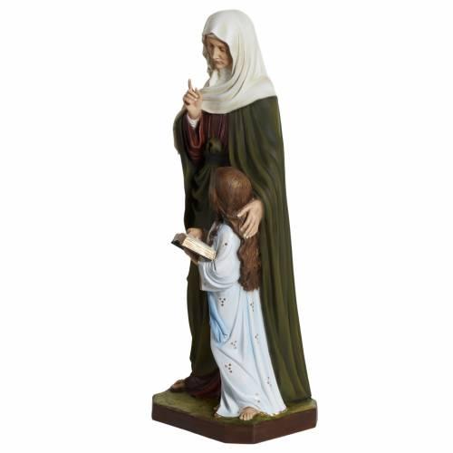 Saint Anne statue in fiberglass, 80 cm s5
