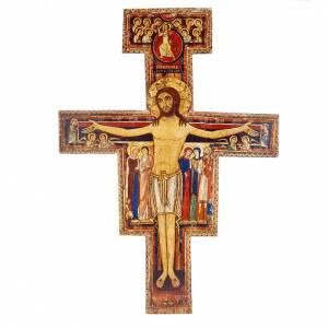 Wooden crucifixes: Saint Damien crucifix, different sizes